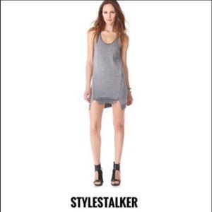 Stylstalker Metallic Silver Sleeveless Mini Dress